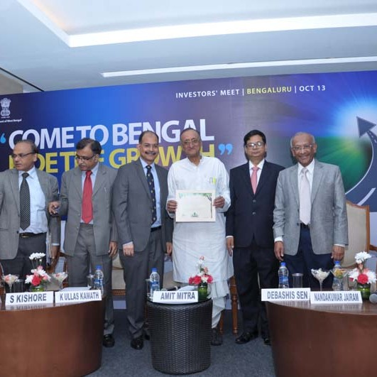 Bengal Global Business Summit 2016 Investment Roadshow in Bangalore